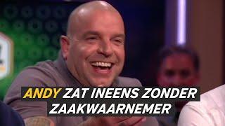 Andy van der Meijde nam een andere zaakwaarnemer, want de zijne zat 'in de bajes'