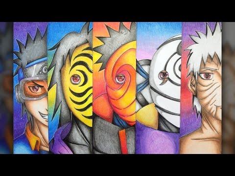 Drawing Obito Uchiha / Time Line (Naruto Shippuden)