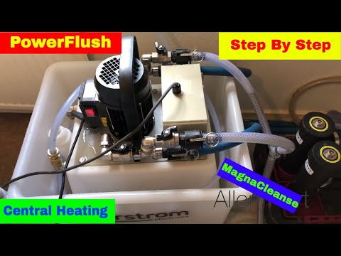How To Powerflush Open Vent Heating System Day in the life o