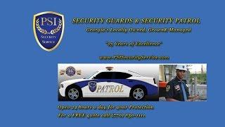 Local Security Company Atlanta GA (770) 850-1111 Security Patrol Services Sandy Springs