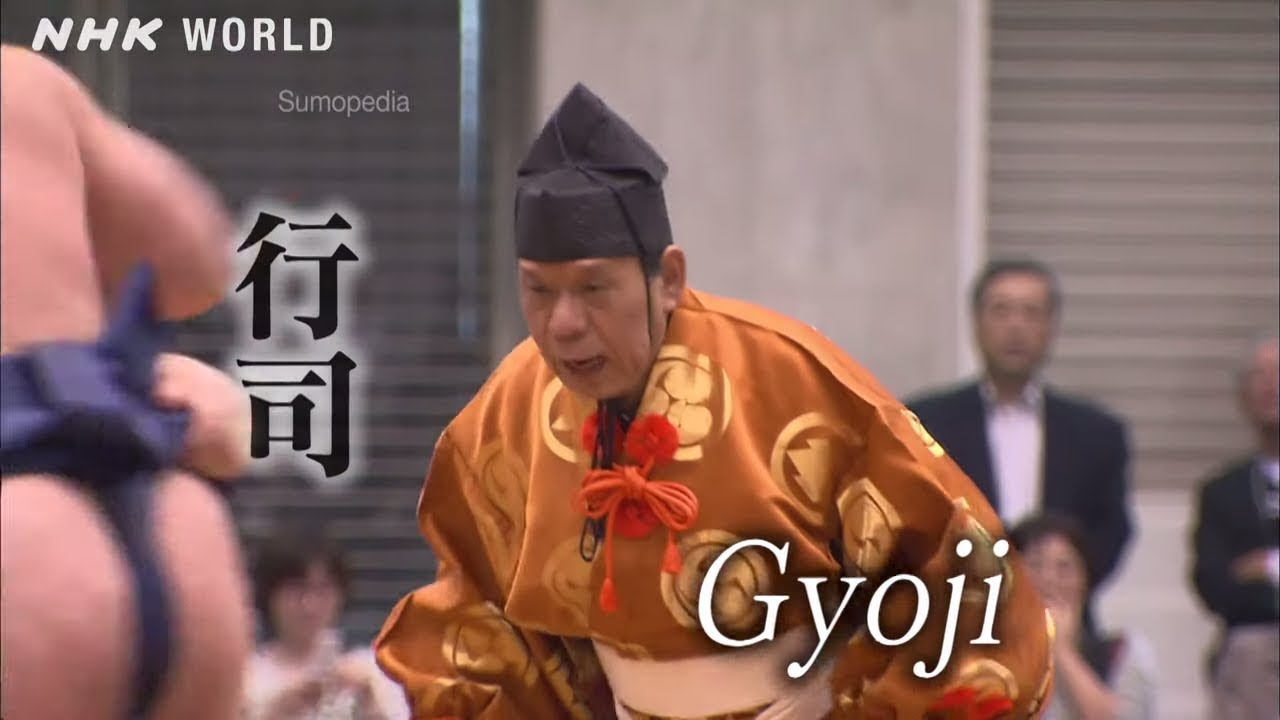 Photo of Gyoji [行司] – SUMOPEDIA – video