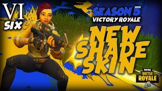 Nouveau! Shade Skin (Fortnite Battle Royale) PS4 Pro Gameplay