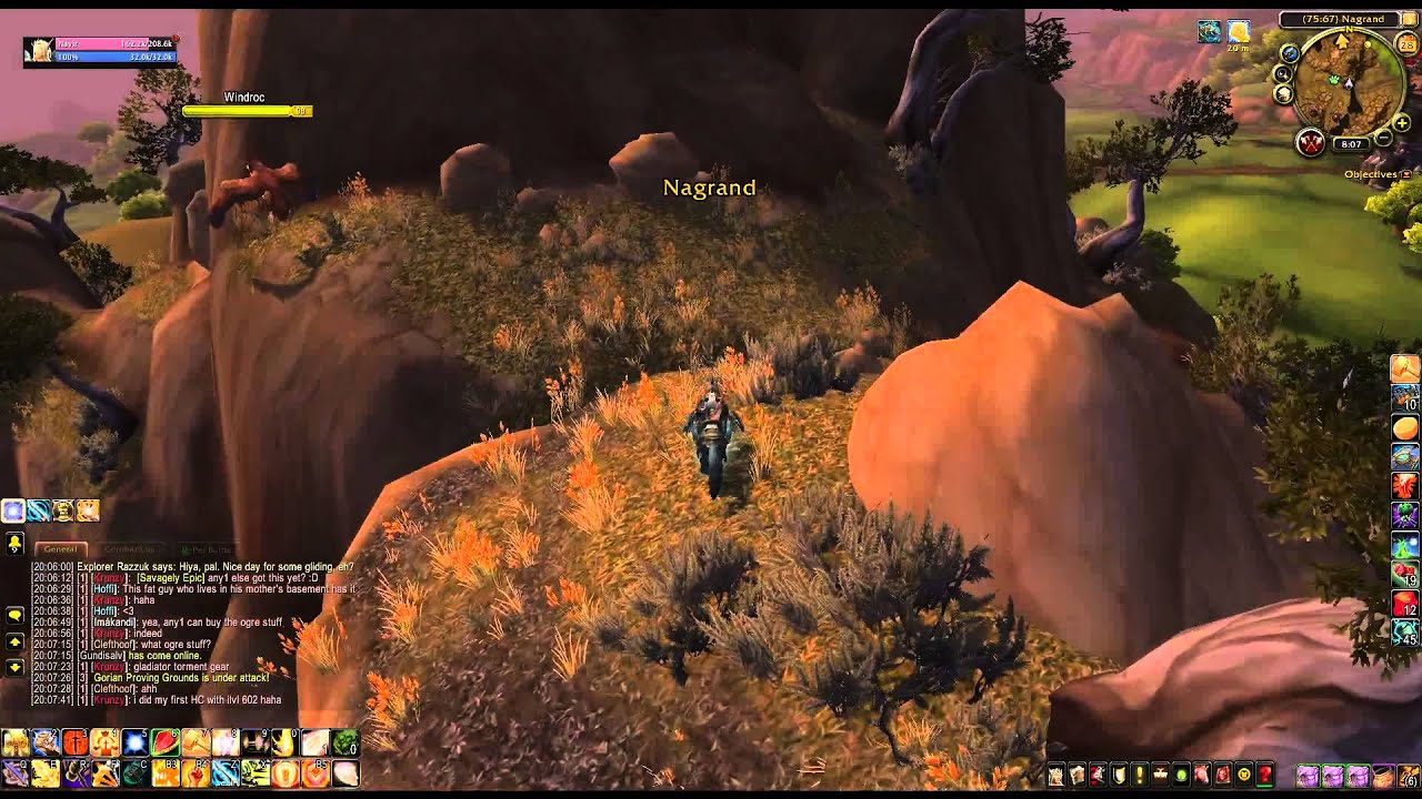 How To Get Warsong Spoils Wod Nagrand Treasure By Zafrostpet