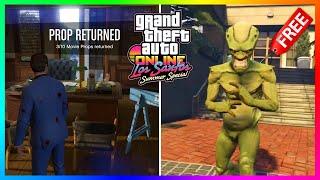 How To Complete Solomon Richards Movie Prop Treasure Hunt In GTA 5 Online! (Summer Special Update)