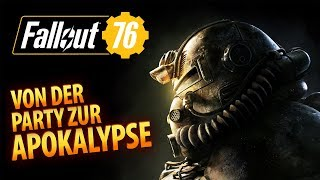Fallout 76 #01 | Von der Party zur Apokalypse | Gameplay German Deutsch thumbnail