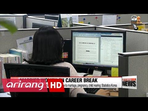 Half of Korea's married women in 30s on career break