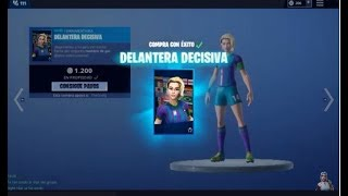 "FORTNITE I BUY THE FOOTBALL SKIN ""DETIDE FRONT"" - THE FUTBOL SKINS RETURN"