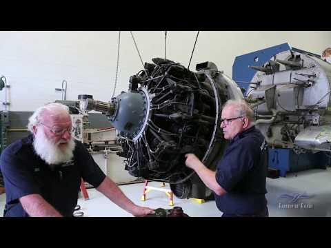 Seversky P-35a - Engine Removal - Restoration Update - 05/2018