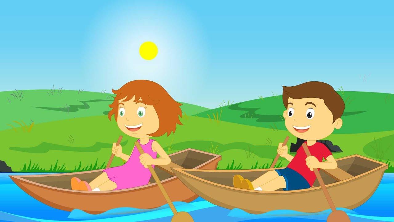 Row Row Row Your Boat | Nursery Rhymes - YouTube