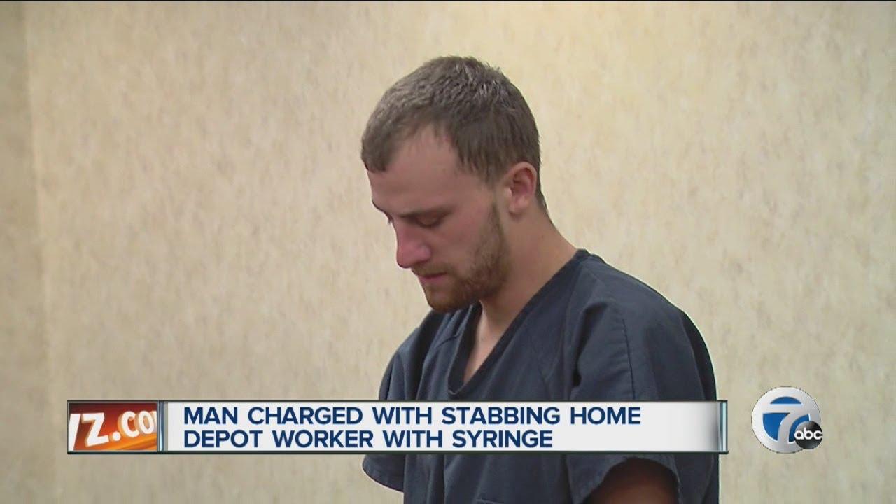 Michigan   Home Depot   syringe   concealed firearm