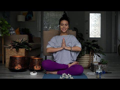Meditación Guiada Con Ejercicios De Relajación (ASMR)