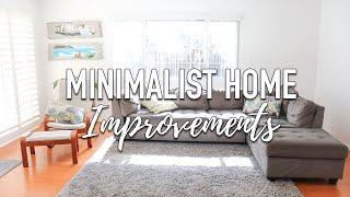 Minimalist Home Tour Updates - Fixer Upper 3 Month Improvements