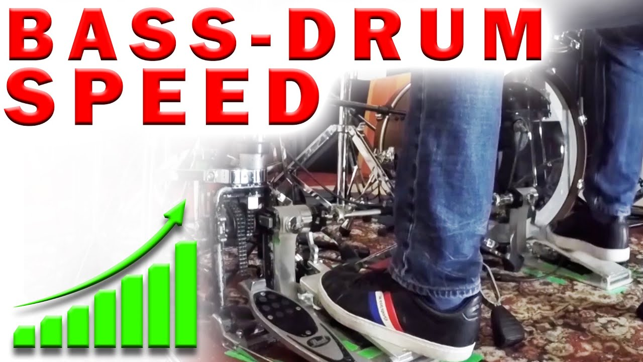 The BEST Bass Drum Speed Exercise | Double Bass Single Stroke Technique