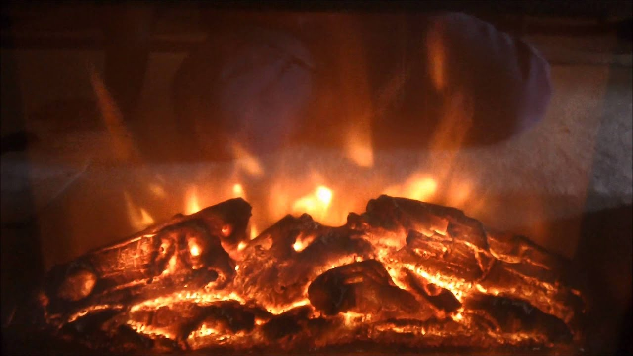 electric fireplace infrared heater youtube