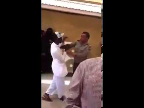 Saudi Passport officer assaulting expatriates in Jeddah