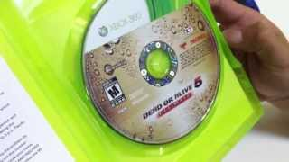 Unboxing Dead or Alive 5 Ultimate Xbox 360