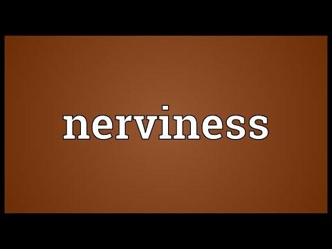 Header of nerviness
