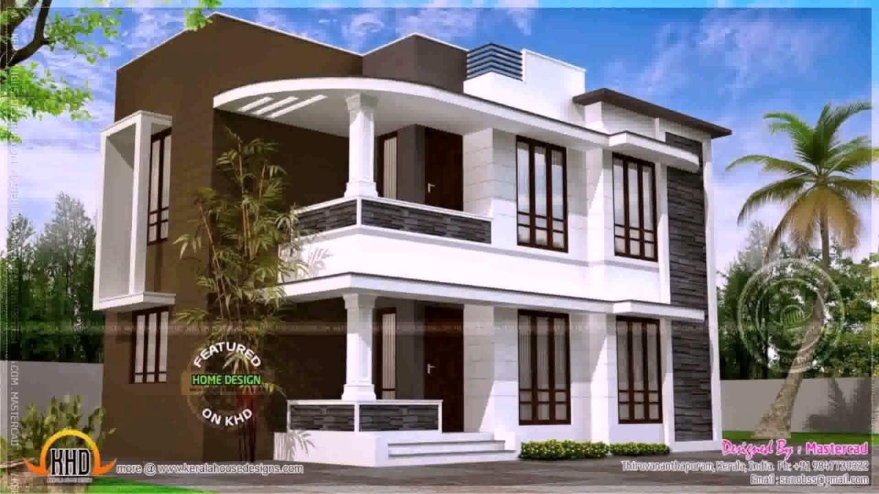 House Plans 2000 Sq Ft Kerala Youtube