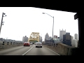 Driving through the Fort Pitt Tunnel