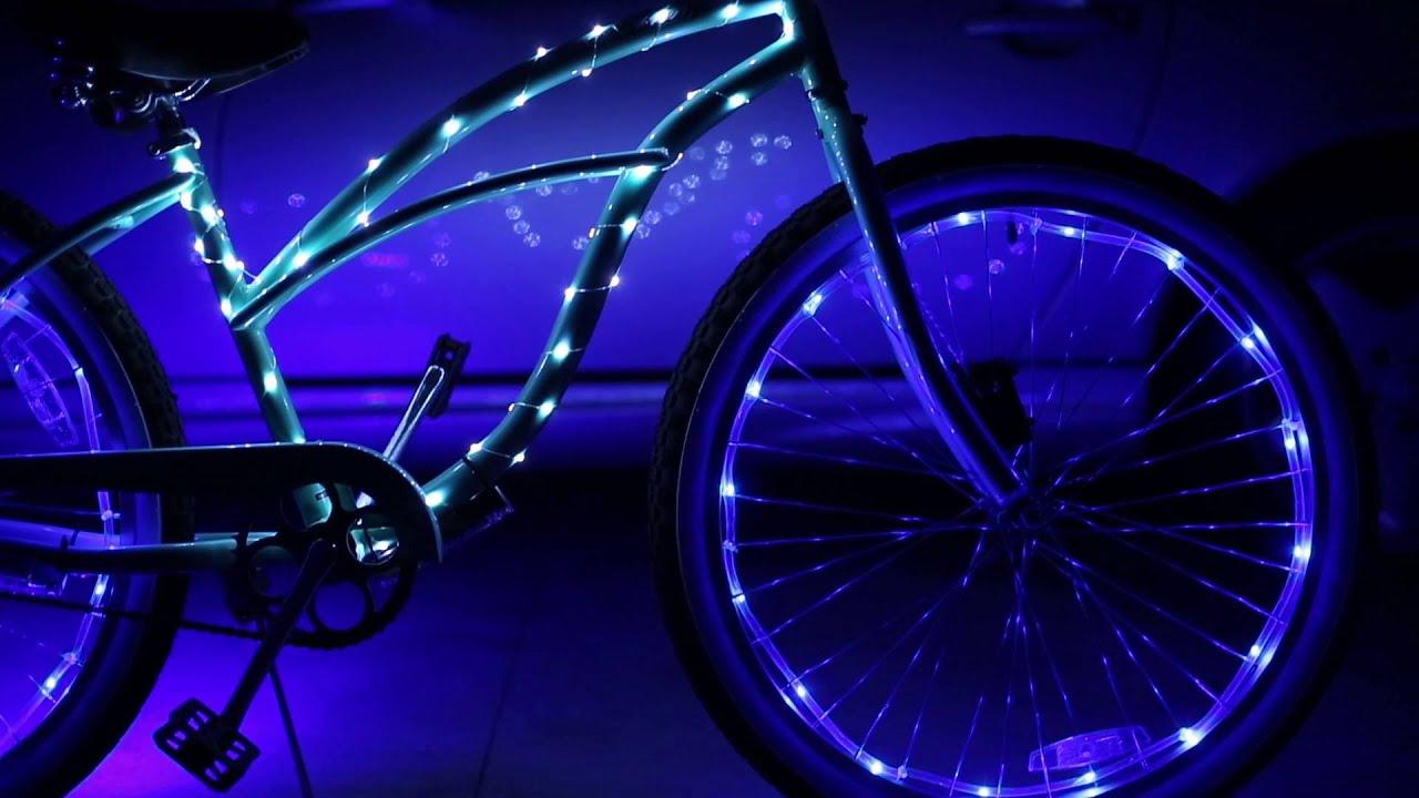 Be Cool Be Seen Brightz LED Bike Lights Short