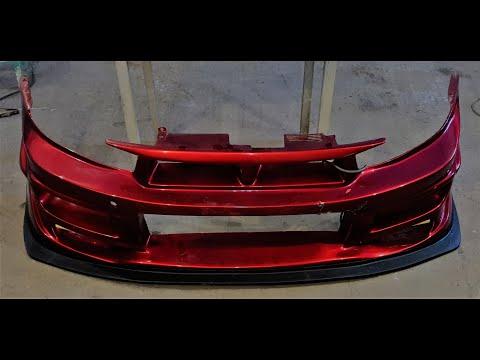 Изготовление Cплиттера для Mitsubishi Galant