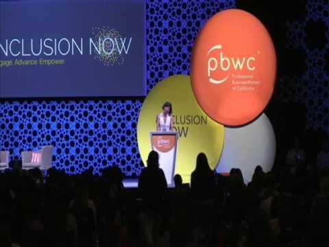 PBWC Conference w/Taraji P. Henson & Rosario Dawson!