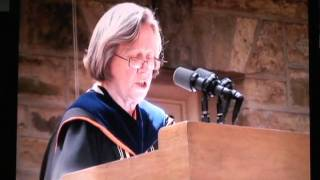 DISCURSO XENOFOBICO DE SHIRLEY TILGHMAN EN LA GRADUACION DE PRINCETON 2011!