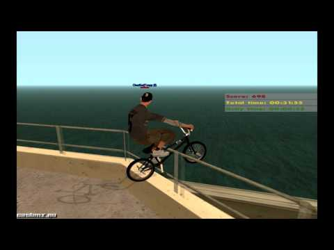 GTA SAN ANDREAS Cat Bmx 2016