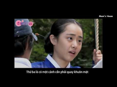 [Vietsub] Hậu trường, phỏng vấn Moon Geun Young trong DVD phim Họa sĩ gió