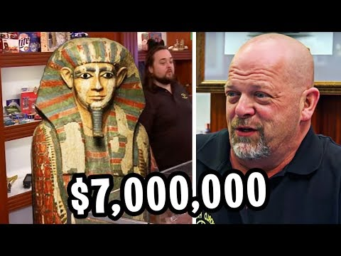 10 MOST BIZARRE Items In Pawn Stars History