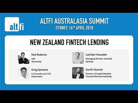 New Zealand Fintech Lending