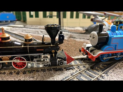 "Thomas vs ""The General"" – The Great Locomotive Chase – Bachmann Trains"