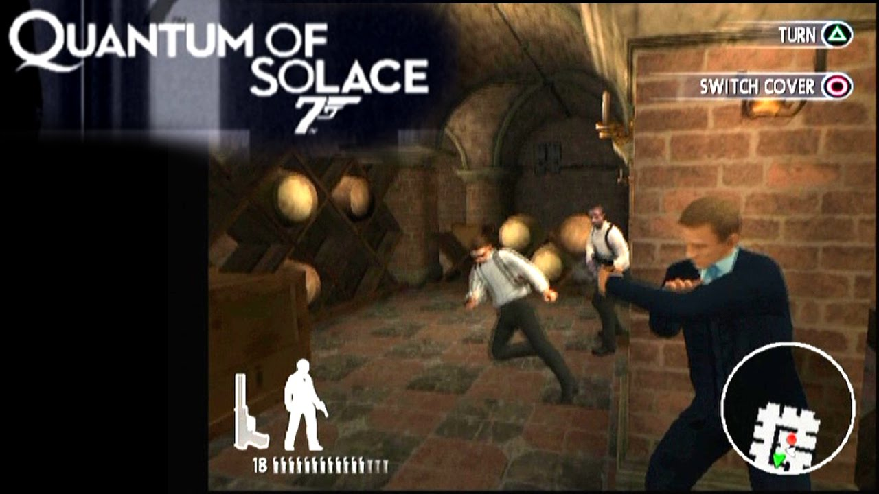 James Bond 007 Quantum Of Solace Ps2 Youtube