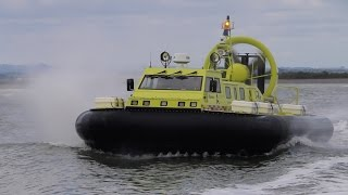 Auckland International Airports New Rescue Hovercraft 2015