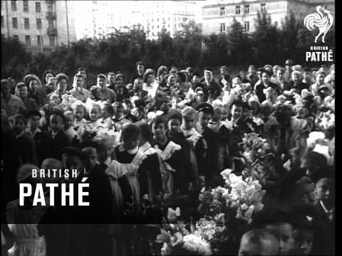 First Day At School In Moscow (1961)