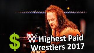 WWE's Highest Paid Wrestlers 2017 | WWE Richest Wrestlers