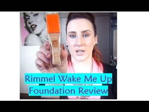 Rimmel London | Wake Me Up Foundation Review