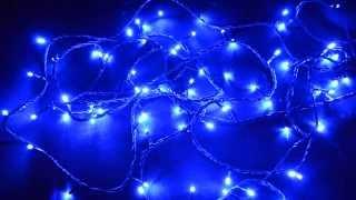 Светодиодная гирлняда нить, 200 светодиодов, наружное применение(Светодиодная гирлянда