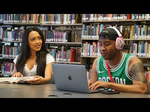 Blasting INAPPROPRIATE Songs in the Library PRANK PART 2