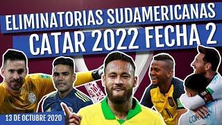 RESUMEN Eliminatorias Sudamericanas Rumbo a Catar 2022 FECHA 2