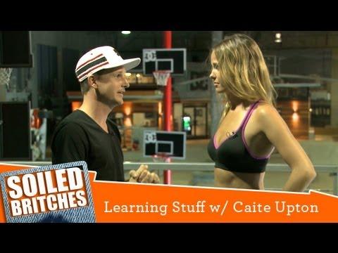 Rob Dyrdek and Caite Upton Learn Gravity  Learning Stuff