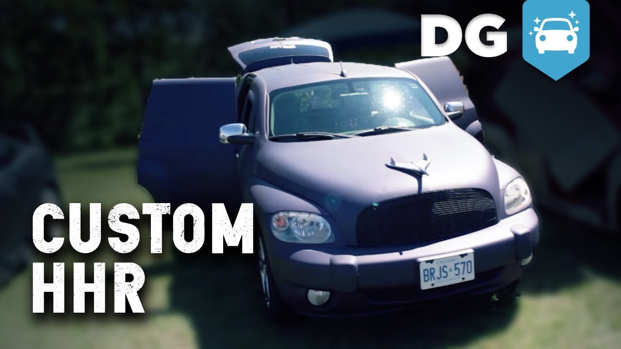 Custom Hood Ornaments >> Custom Chevy HHR - YouTube