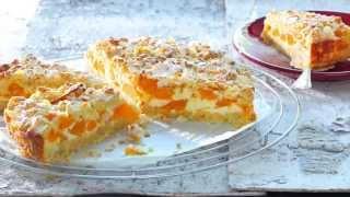Walliser Aprikosen-Quark-Torte