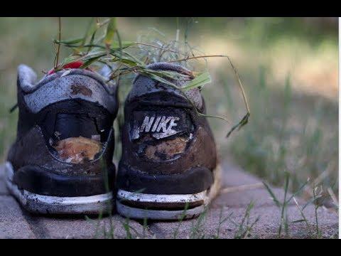 180da6343fa403 Restoring Vintage 1994 Black Cement Air Jordan s that was dragged in the mud