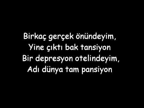 Norm Ender - Depresyon Oteli ( Lyrics )
