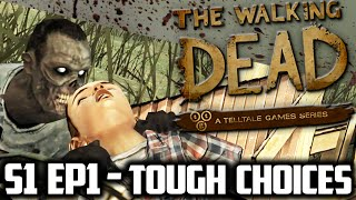 ALWAYS tell the TRUTH...  | [BLIND] THE WALKING DEAD Game Season 1 Episode 1 PART  2 Walkthrough