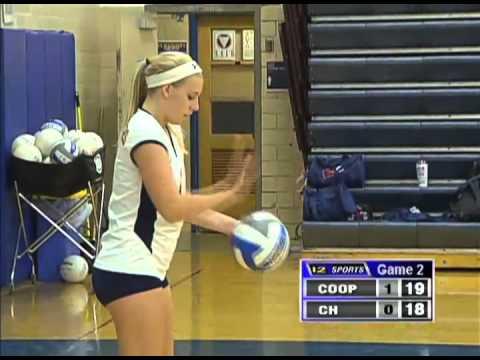 Cooper vs Columbia Heights High School Volleyball