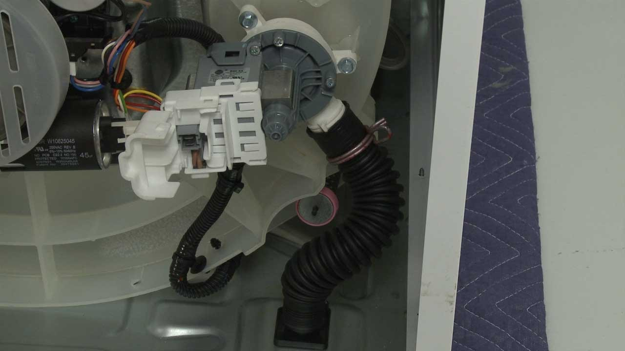 Whirlpool TopLoad Washer Drain Pump Replacement #