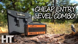 CHEAP Off Grid POWER Solution! Rockpals 250w Solar Generator With 60 Watt Solar Panel Review
