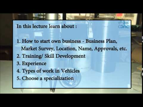 auto spare parts business plan sample